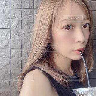 髪の写真・画像素材[2577173]