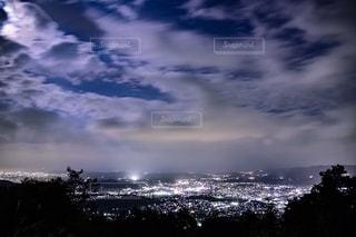空の雲の群の写真・画像素材[2722817]