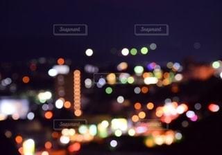 夜景の玉ボケの写真・画像素材[2782387]