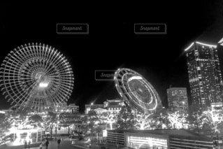 みなとみらいのクリスマスの写真・画像素材[4081504]
