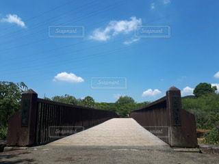 吊り橋 春雲の写真・画像素材[2479833]