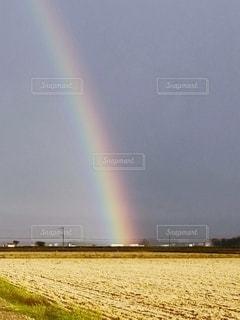 虹の始まりの写真・画像素材[2578457]