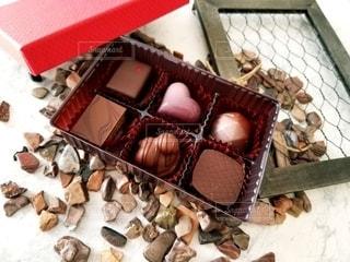 ちょっとお洒落なチョコレートの写真・画像素材[2960698]