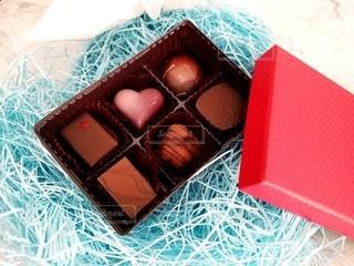 ラッピング前のチョコレートの写真・画像素材[2960699]