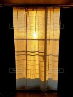 夕陽のスクリーンの写真・画像素材[3315921]