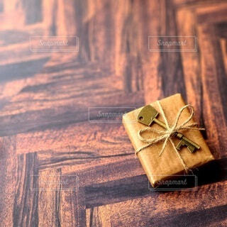 お洒落なプレゼントの写真・画像素材[3982397]