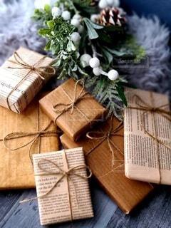 お洒落なプレゼントの写真・画像素材[3982408]