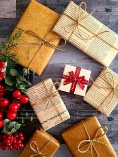 お洒落なプレゼントの写真・画像素材[3982407]