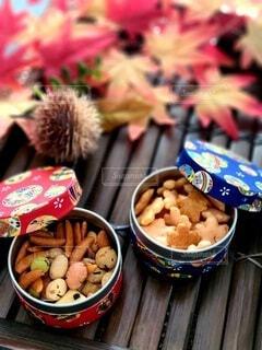 食べ物,紅葉,栗,和菓子,もみじ,デザート,おやつ,お菓子,和,和小物,スナック,おかき,和柄,和スイーツ,造花,お盆,モミジ,お煎餅,インスタ映え,木製品,米菓子