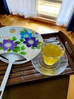 冷たいお茶の写真・画像素材[4712708]