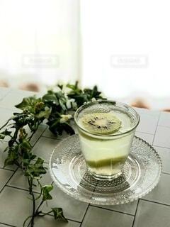 冷たい飲み物の写真・画像素材[4712711]