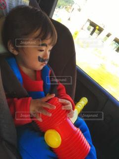 仮装する子どもの写真・画像素材[2617536]