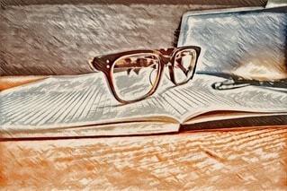 メガネの写真・画像素材[3766443]