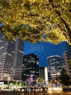 秋の街並み、夜景フォトの写真・画像素材[2773621]