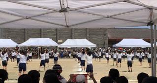 田舎の運動会の写真・画像素材[2490790]