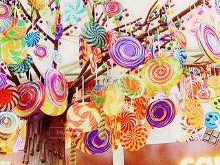 キャンディーの木の写真・画像素材[2511629]