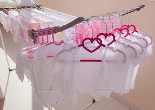 世界一幸せなお洗濯の写真・画像素材[4677240]