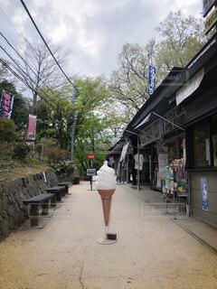 高尾山にての写真・画像素材[4704059]
