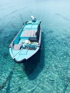 水域のボートの写真・画像素材[2493992]
