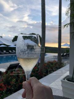 ワイン1杯の写真・画像素材[2557574]