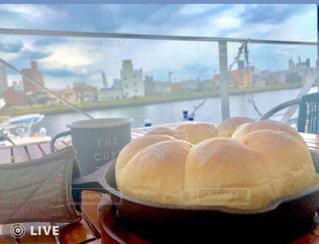 ヨットハーバーで 朝食をの写真・画像素材[2604772]