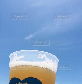 空,グラス,ビール,乾杯,ドリンク