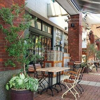 オープンカフェの写真・画像素材[2724171]