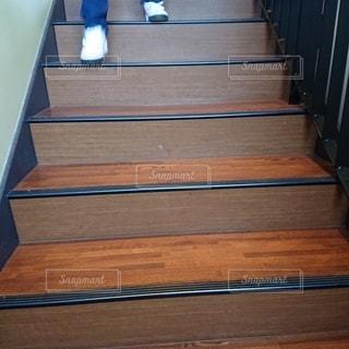 階段での1コマフォトの写真・画像素材[2743376]