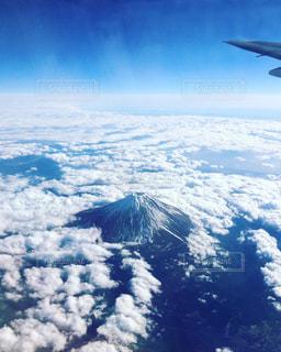 飛行機からの富士山 - No.234812