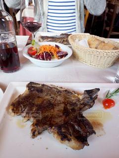 ヨーロッパ,ワイン,肉,イタリア,ステーキ,フィレンツェ,新婚旅行,Trattoria Dall'Oste