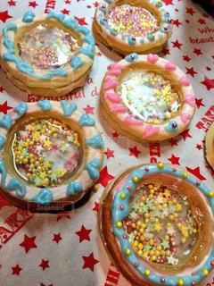 カラフルなクッキーの写真・画像素材[2927526]