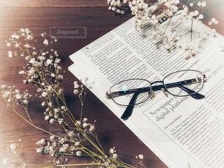 愛用メガネの写真・画像素材[2758276]