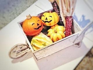 ニコニコかぼちゃの写真・画像素材[2760219]