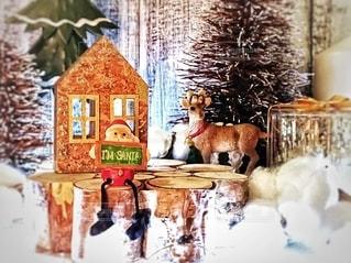 クリスマス飾り l'm santaの写真・画像素材[2813107]