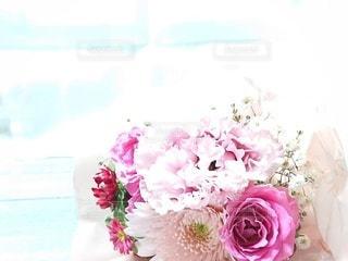 ピンクの花束の写真・画像素材[3122262]