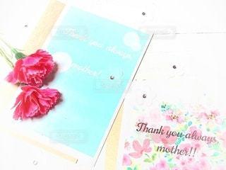 母の日の手作りカードの写真・画像素材[3199541]