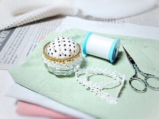 裁縫道具の写真・画像素材[3775086]