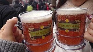 グラス,ビール,乾杯,ドリンク,バタービール