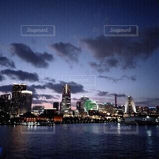 みなとみらいの夜景の写真・画像素材[4086559]