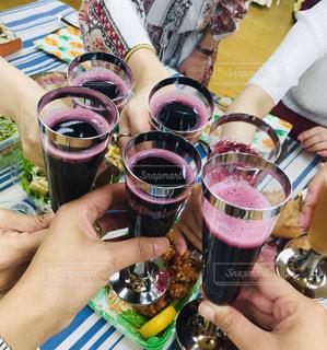 グラス,乾杯,ドリンク,女子会,お友達