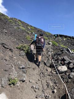 富士登山の写真・画像素材[2513858]