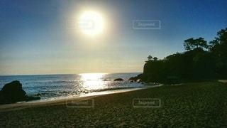 自然,風景,海,空,太陽,ビーチ,水面,海岸,光,浜辺,日中
