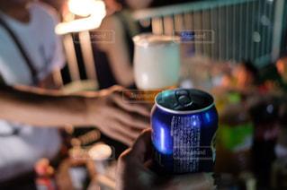 夜,グラス,ビール,乾杯,バーベキュー,野外,ドリンク,BBQ,缶ビール
