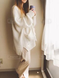 朝のコーヒーの写真・画像素材[2677447]