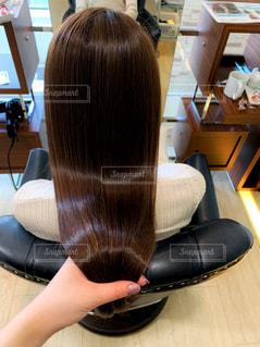 美しい艶のある髪の写真・画像素材[2514629]