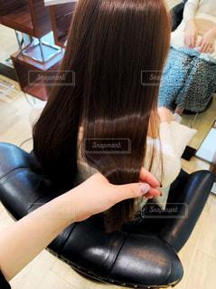 艶のある髪の毛の写真・画像素材[2514644]