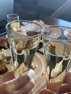 グラス,記念日,乾杯,ドリンク,シャンパン,デート