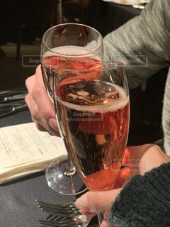 クリスマス,グラス,乾杯,ドリンク,シャンパン,デート,みなとみらい