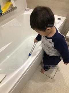 お風呂掃除の写真・画像素材[3115416]