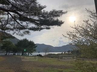 輝く太陽の写真・画像素材[2640446]